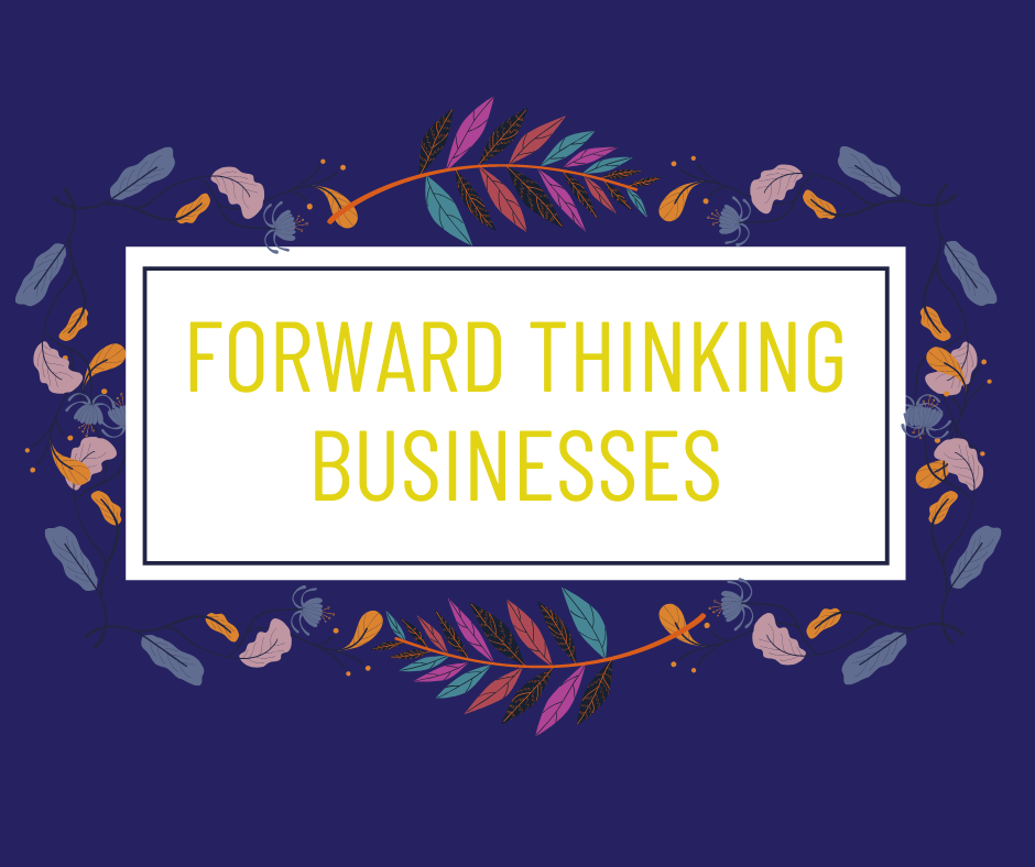 NEW Forward Thinking Businesses